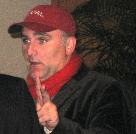 Jose Andres before the dialogue began