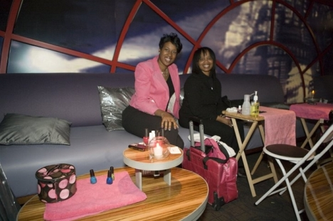 Free Nail Services at Posh Girls Night Out Events