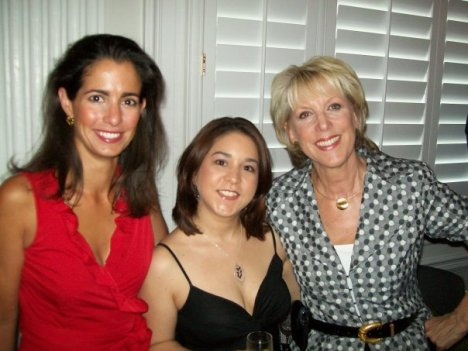 Left: Kelly Collis Fredrick, Me, and Jill Collins