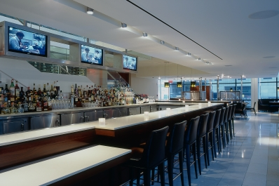 The bar at The Source by Wolfgang Puck