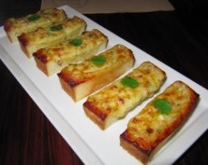 fontina, bacon and truffle toasts