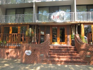 Firefly exterior. Dupont Circle street view.