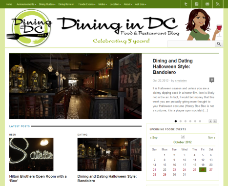 Dining in DC - Connecting People Through Food